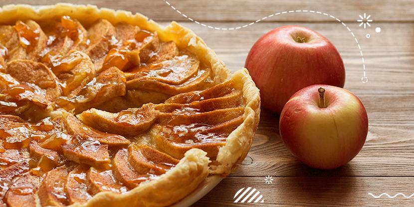 Pastel de manzana francés con solo 4 ingredientes