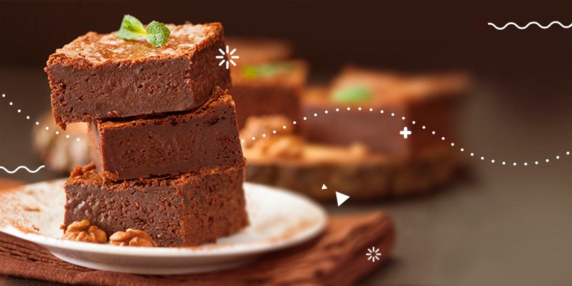 ¡Un postre tradicional y deliciosísimo!: Brownie casero