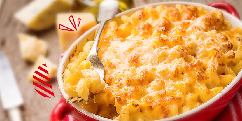 ¡Deliciosa Navidad!: Macarrones al horno con queso y calabaza