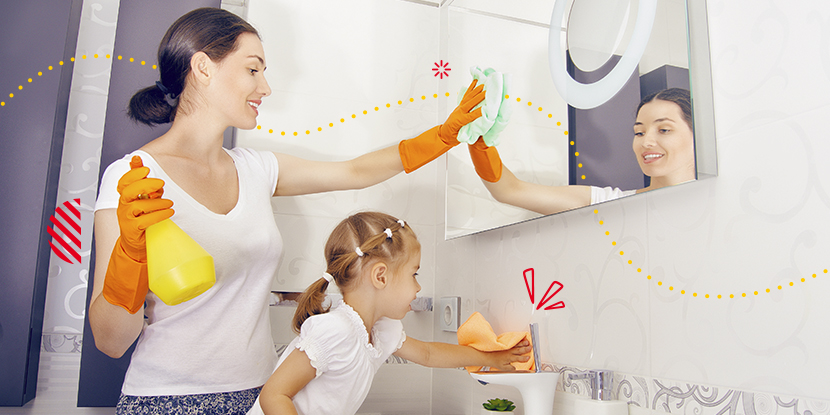 Pautas para una crianza responsable de los quehaceres del hogar