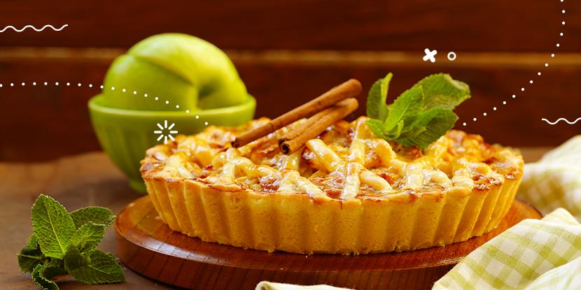 ¡Un postre glorioso!: Pie de manzana