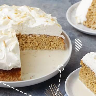 ¡Un postre exquisito!: Receta de torta tres leches