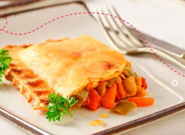 Receta saludable: Empanadas con vegetales