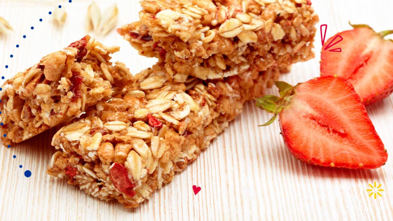 Barras de mantequilla de maní y cereal: Un bocadillo para comer sin culpa