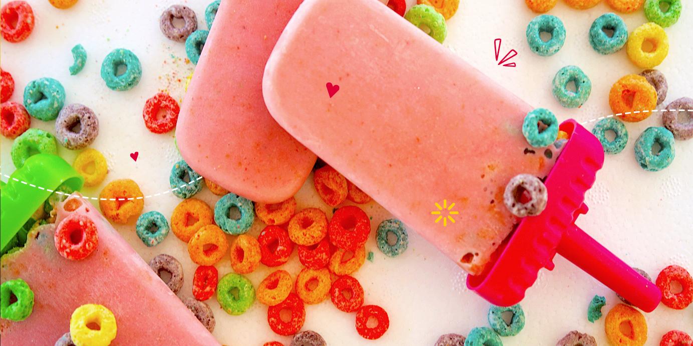 Receta: Helado colorido y nutritivo para el desayuno