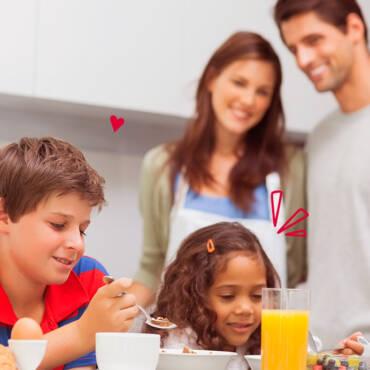 Pautas infalibles para preparar desayunos saludables a los niños
