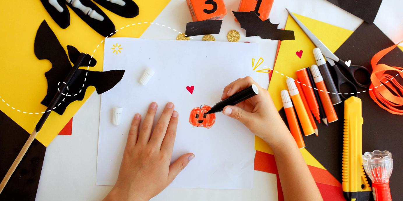 3  manualidades sencillas para Halloween
